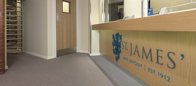 St James' Safe Deposit Reception Leeds