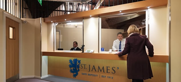 St James' Safe Deposit Leeds