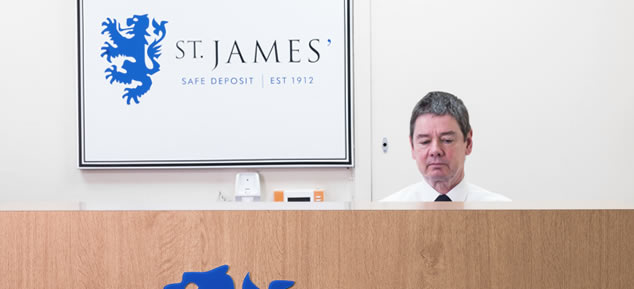 St James' Safe Deposit Reception