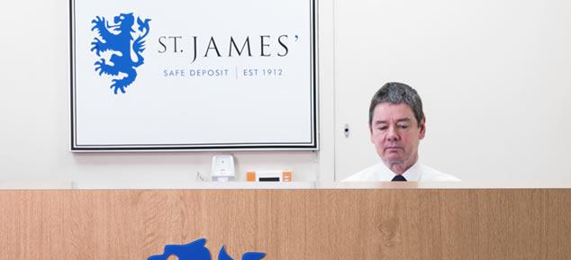 St James' Safe Deposit Reception