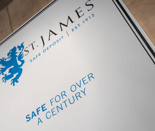 St James' Safe Deposit Safe For Over A Century